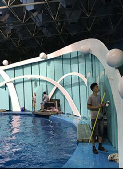 青岛公园玻璃钢景观制作